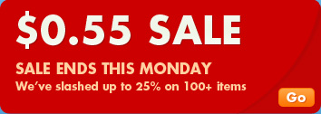 55-cent Sale Ends This Monday