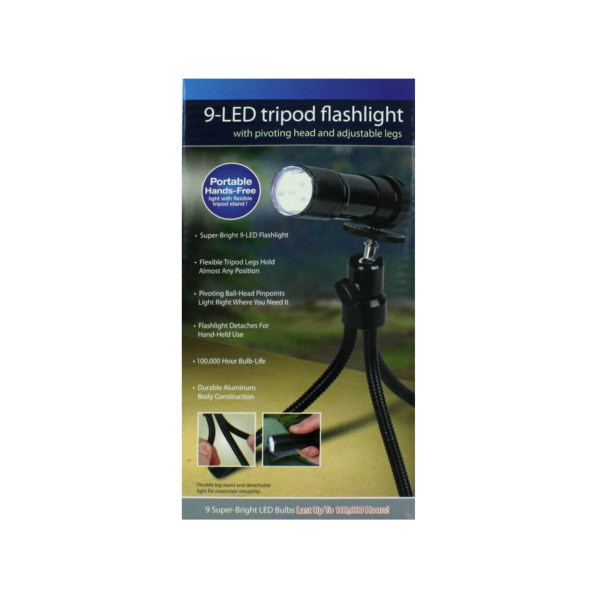 kole Tripod Flashlight With 9 Leds [ 4 Pack ] at Sears.com