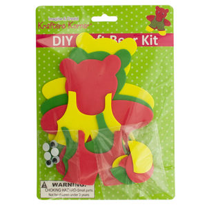 20 Pieces Per Pack Of Diy Craft Foam Teddy Bear Kit][Wholesales Purchase Hoodmat.Com