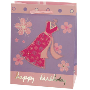 24  Pieces Per Pack Of  Small Happy Birthday Giftbag 4 Styles Assorted ][wholesales purchase|hoodmat.com