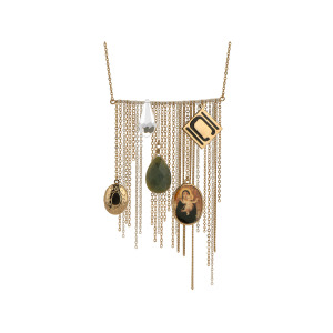 1 Pieces Per Pack Of Nikki Chu Gold Tone Opera Length Tassle Necklace ][Wholesales Purchase Hoodmat.Com