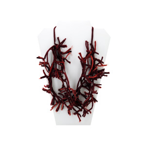12 Pieces Per Pack Of Red Knotted Necklace ][Wholesales Purchase Hoodmat.Com