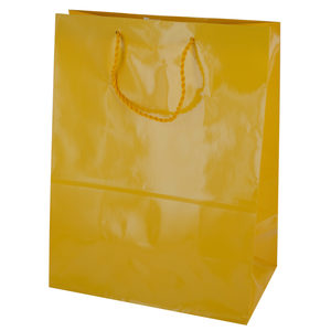 36  Pieces Per Pack Of  Large Solid Yellow Gift Bag ][wholesales purchase|hoodmat.com