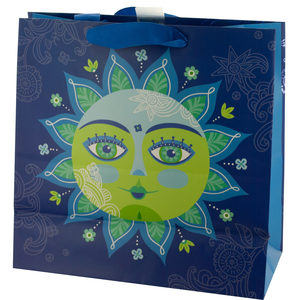 20  Pieces Per Pack Of  Decorative Sun Large Square Gift Bag ][wholesales purchase|hoodmat.com