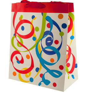 20  Pieces Per Pack Of  Party Streamers Large Gift Bag ][wholesales purchase|hoodmat.com