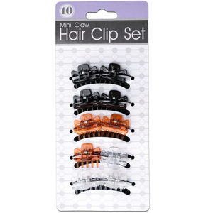 24 Pieces Per Pack Of Colored Hair Barrettes Set ][Wholesales Purchase|Hoodmat.Com