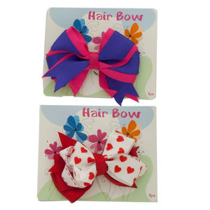 24 Pieces Per Pack Of H.E.R Finding Dory Hair Bows Set Of 2 ][Wholesales Purchase|Hoodmat.Com