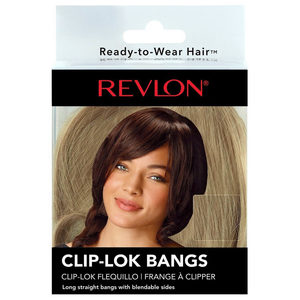 12 Pieces Per Pack Of Revlon Frosted Clip-Lok Bangs ][Wholesales Purchase|Hoodmat.Com