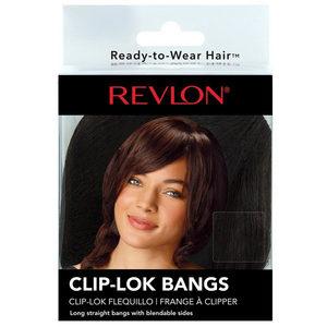 12 Pieces Per Pack Of Revlon Dark Blonde Clip- Lok Bangs ][Wholesales Purchase|Hoodmat.Com