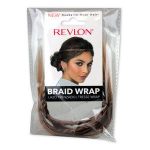 12 Pieces Per Pack Of Revlon Medium Brown Braid Wrap ][Wholesales Purchase|Hoodmat.Com