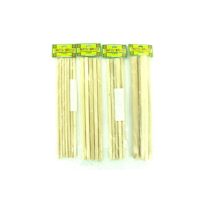 12 Pieces Per Pack Of Wooden Dowel Craft Sticks][Wholesales Purchase Hoodmat.Com