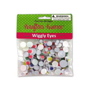 12 Pieces Per Pack Of Wiggly Eyes ][Wholesales Purchase Hoodmat.Com
