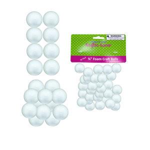 12 Pieces Per Pack Of Small Foam Craft Balls][Wholesales Purchase Hoodmat.Com