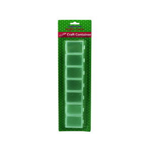 12 Pieces Per Pack Of Seven Section Craft Container][Wholesales Purchase Hoodmat.Com