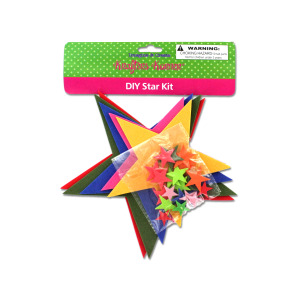 12 Pieces Per Pack Of Do-It-Yourself Foam Star Craft Kit ][Wholesales Purchase Hoodmat.Com