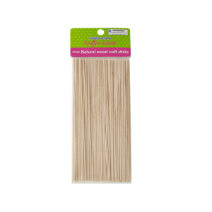 12 Pieces Per Pack Of Skinny Natural Wood Craft Sticks][Wholesales Purchase Hoodmat.Com