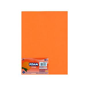 18 Pieces Per Pack Of Orange Craft Foam Sheet ][Wholesales Purchase Hoodmat.Com
