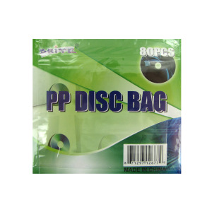 DISC BAG HOLDS 80 X1