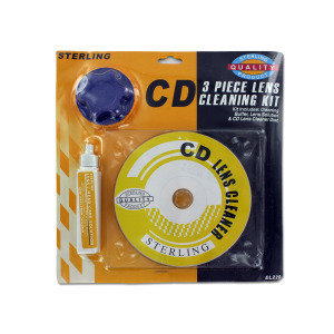 3PC CD CLEANING KIT