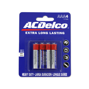 12 Pieces Per Pack Of Heavy Duty Aaa Batteries ][Wholesales Purchase|Hoodmat.Com