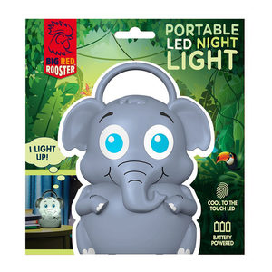8 Pieces Per Pack Of Elephant Portable Led Night Light With Handle ][Wholesales Purchase|Hoodmat.Com