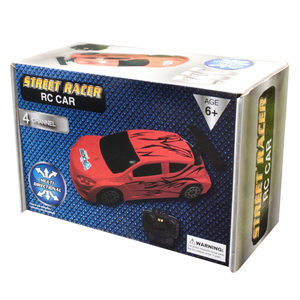 2 Pieces Per Pack Of Red Street Racer Remote Control Car ][Wholesales Purchase   Hoodmat.Com