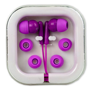 24 Pieces Per Pack Of Cushioned Earbuds By Wireless Gear ][Wholesales Purchase|Hoodmat.Com