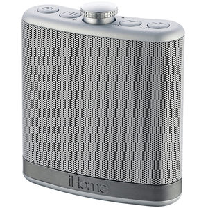 2 Pieces Per Pack Of Ihome Silver Flask Speaker With Case ][Wholesales Purchase|Hoodmat.Com
