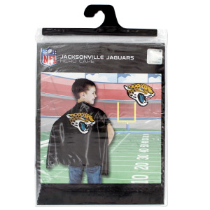 12  Pieces Per Pack Of  Jacksonville Jaguars Hero Cape ][Wholesales Purchase Hoodmat.Com