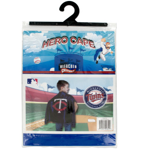 12  Pieces Per Pack Of  Minnesota Twins Hero Cape ][Wholesales Purchase Hoodmat.Com