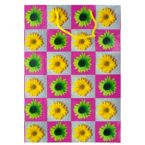 30  Pieces Per Pack Of  Large Daisies Gift Bag ][wholesales purchase|hoodmat.com