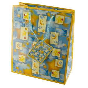 30  Pieces Per Pack Of  Medium Moon & Stars Gift Bag ][wholesales purchase|hoodmat.com