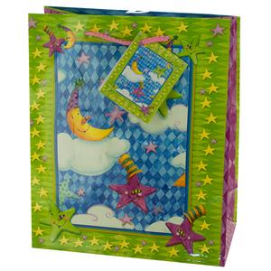 30  Pieces Per Pack Of  Medium Moon & Stars Birthday Gift Bag ][wholesales purchase|hoodmat.com