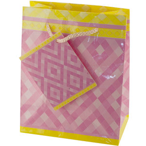 36  Pieces Per Pack Of  Small Pink Diamonds Gift Bag ][wholesales purchase|hoodmat.com