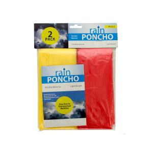 24 Pieces Per Pack Of Emergency Rain Ponchos ][wholesales purchase|hoodmat.com