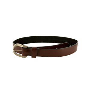 10 Pieces Per Pack Of Large Brown Belt with Silver Buckle ][wholesales purchase|hoodmat.com