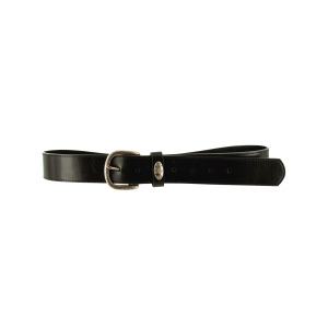 10 Pieces Per Pack Of lrg black belt w/flower ][wholesales purchase|hoodmat.com
