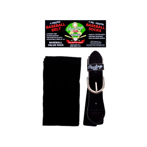 10 Pieces Per Pack Of Youth Baseball Adjustable Belt And 1 Pair Socks Size 6 - 8.5 ][wholesales purchase|hoodmat.com