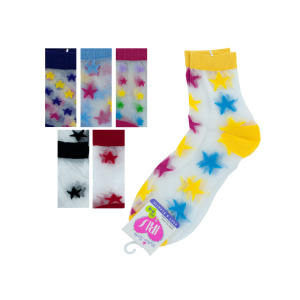 36 Pieces Per Pack Of High Cut Stars Socks ][wholesales purchase|hoodmat.com