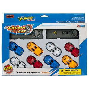 4 Pieces Per Pack Of Race Car Launch Set ][Wholesales Purchase   Hoodmat.Com