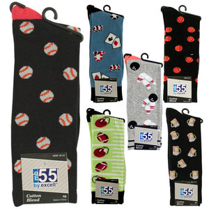 20 Pieces Per Pack Of Men's Theme Cotton Blend Knit Dress Socks ][wholesales purchase|hoodmat.com