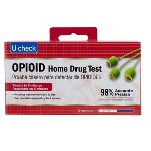 12 Pieces Per Pack Of U-Check Opioid Home Drug Test ][Wholesales Purchase|Hoodmat.Com