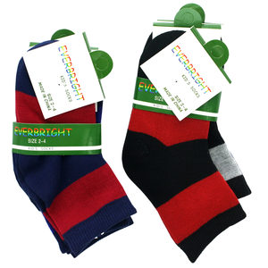 24 Pieces Per Pack Of Kid's Crew Design Socks Size 2 - 4 ][wholesales purchase|hoodmat.com