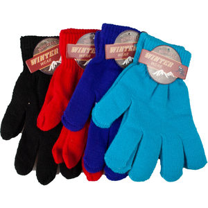 24 Pieces Per Pack Of New Gear Winter Wear Gloves ][wholesales purchase|hoodmat.com