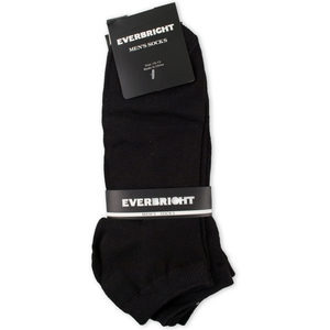 24 Pieces Per Pack Of Men's Black No Show Socks 1 Pair ][wholesales purchase|hoodmat.com