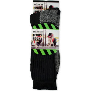 12 Pieces Per Pack Of Heavy Duty Construction Work Socks 1 Pack ][wholesales purchase|hoodmat.com