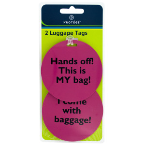 36  Pieces Per Pack Of  Assorted Phrase Luggage Tags  ][Wholesales Purchase|Hoodmat.Com