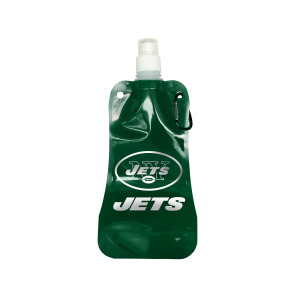 12  Pieces Per Pack Of  16 Oz. New York Jets Foldable Water Bottle ][Wholesales Purchase Hoodmat.Com