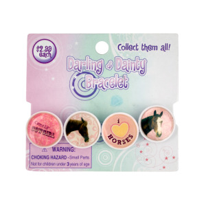 24 Pieces Per Pack Of Darling &Amp; Dainty Epoxy Link Bracelet ][Wholesales Purchase Hoodmat.Com