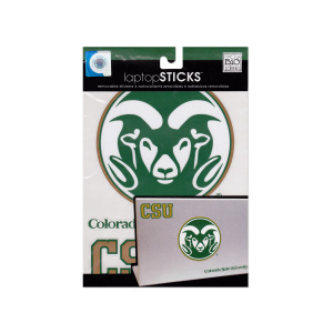 24  Pieces Per Pack Of  Colorado State University Removable Laptop Stickers ][Wholesales Purchase Hoodmat.Com